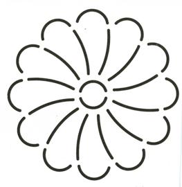 Mini Floral Block Flower