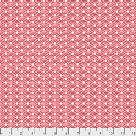 Tula Pink - Hexy - Flamingo