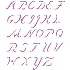 Quilt Stencil Alphabet