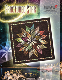 Fractured Star by Judy Niemeyer - Paperpieced