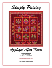Simply Paisley  -Applique After Hours