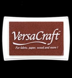 VersaCraft stempelkussen - bruin