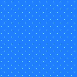 Candy Dot Electric Blue
