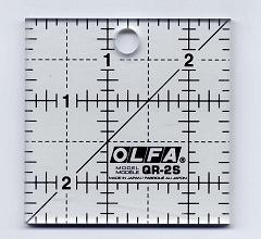 Olfa Quilt liniaal 2,5 x 2,5 inch (Bias Square)