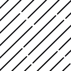 Quilt Stencil Chenille Grids  halve inch