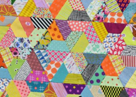 Jen Kingwell  - Postcard Project # 13 - Half Hex
