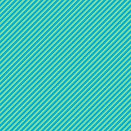 Candy Stripe Teal