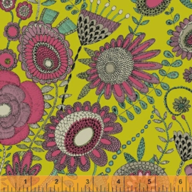 Fantasy by Sally Kelly - Wild Garden - Chartreuse