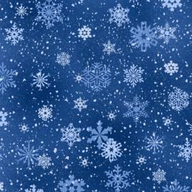Landscape Medley - Snowflakes Royal