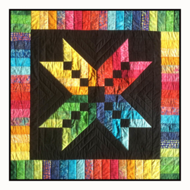 Quilt Kit: Rainbow Star