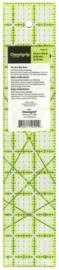 Omnigrid Quilt liniaal 2.5 x 12.5  inch Neon