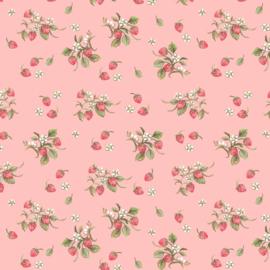 Farm Meadow - Strawberries - Pink