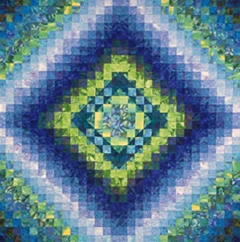 Reflections on the Pond Quilt Pattern By Joen Wolfrom