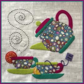 Fabric and More: Theepot - Zaterdag ochtend - 29 februari - VOL