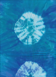 Handmade Batik  Seventies Aquarius