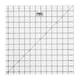 Olfa Quilt liniaal 12,5 x 12,5 inch (Bias Square)
