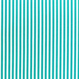 Jaqueline de Jonge  Basics - Teal Stripe