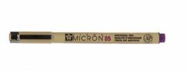 Pigma Micron Pen Purple 0,25mm Maat 01