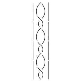 QuiltStencil Multi-Line Border