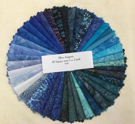 Batik Charmpack : Blue  Ocean