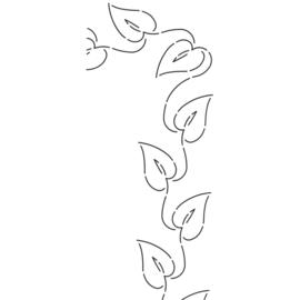 QuiltStencil Ivy Leaf