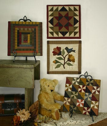 Quilted Pictures # 4 by Lori Smith