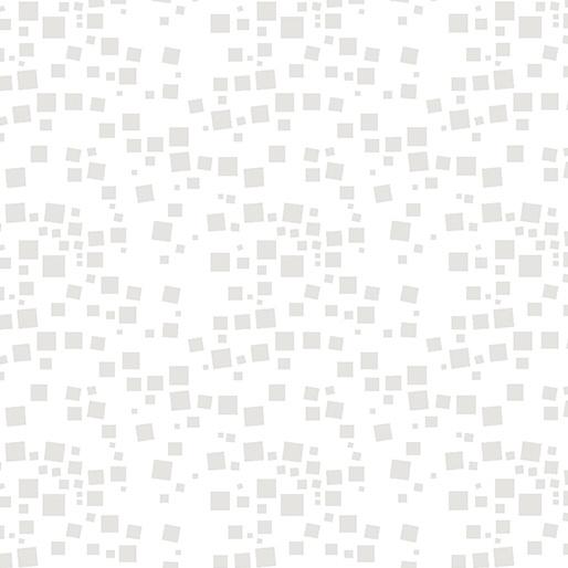 Cat-I-tude,- Small Geo Squares White