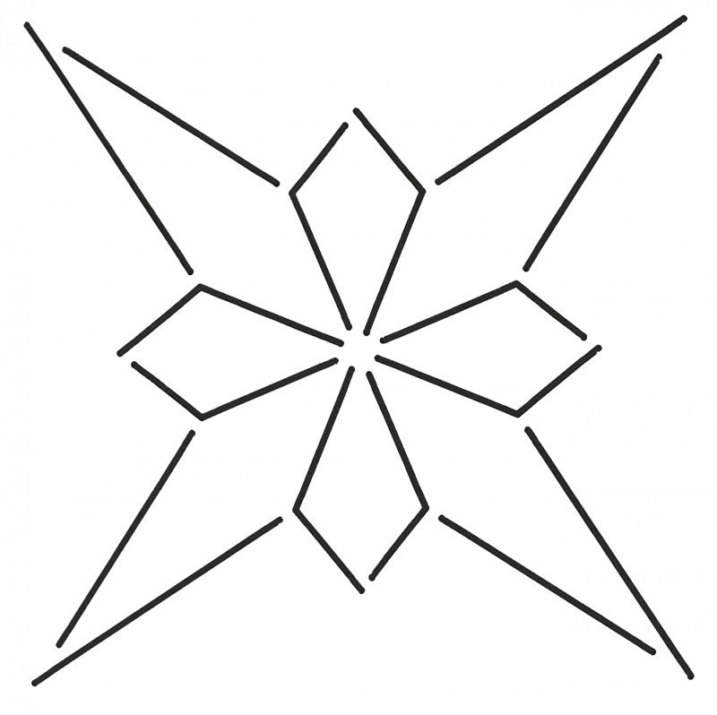 4 Pointed Star