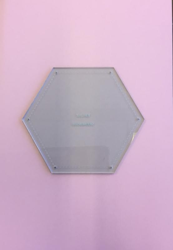 Snijmal 2 1/2  inch Hexagon