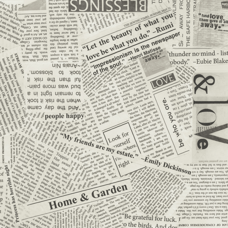 "Newsprint Spackle  108"" Wide"