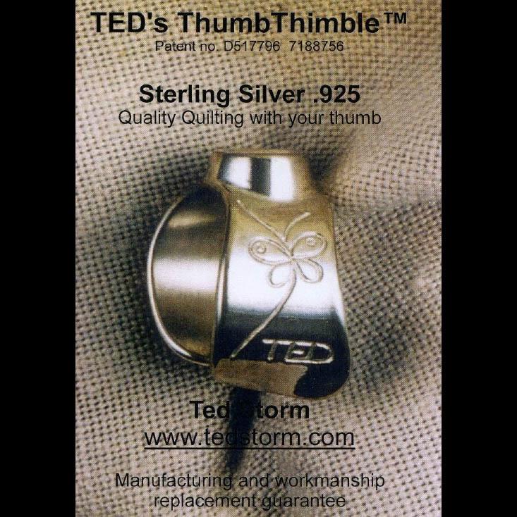 TED's Duim Vingerhoed - zilver