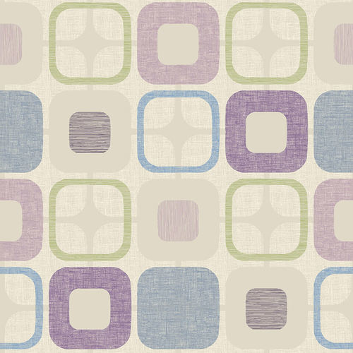 Blank Quilting - Geo Square Lilac