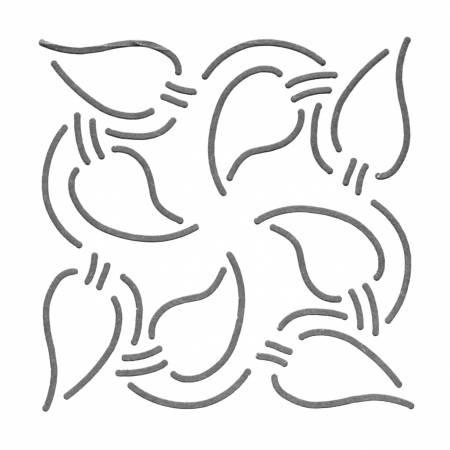 Quilt Stencil Autumn Dance