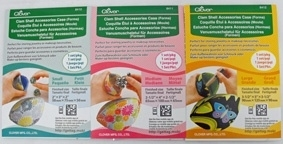 Clover Clam Shell Accessories Cases ( small , medium of large)