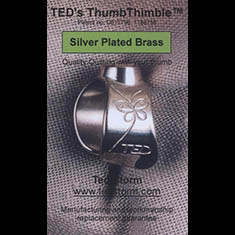 TED's Duim Vingerhoed - verzilverd messing