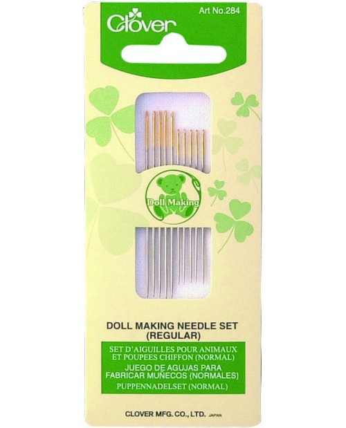 Clover Dollmaking Needle Set ( Regular )