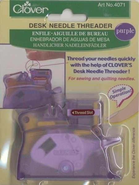 Desk Needle Threader - Paars