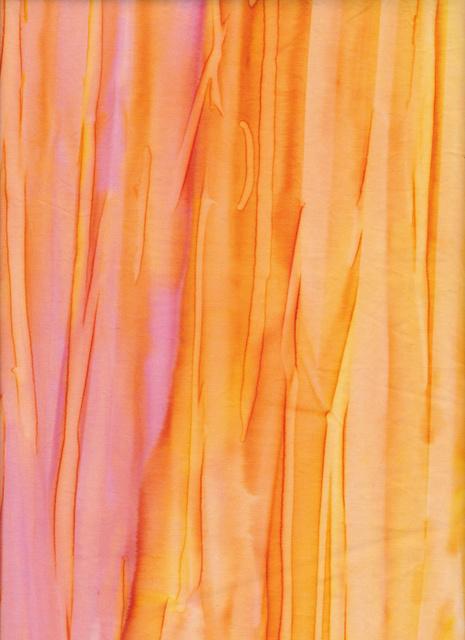 Handmade Batik  Stripe Sunset