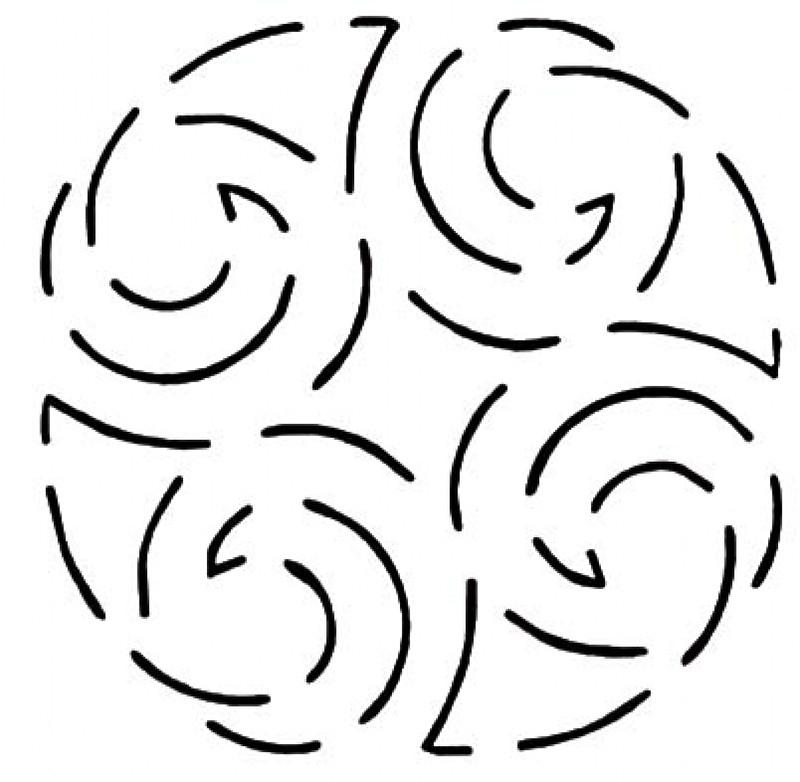 Quilt Stencil North Sea