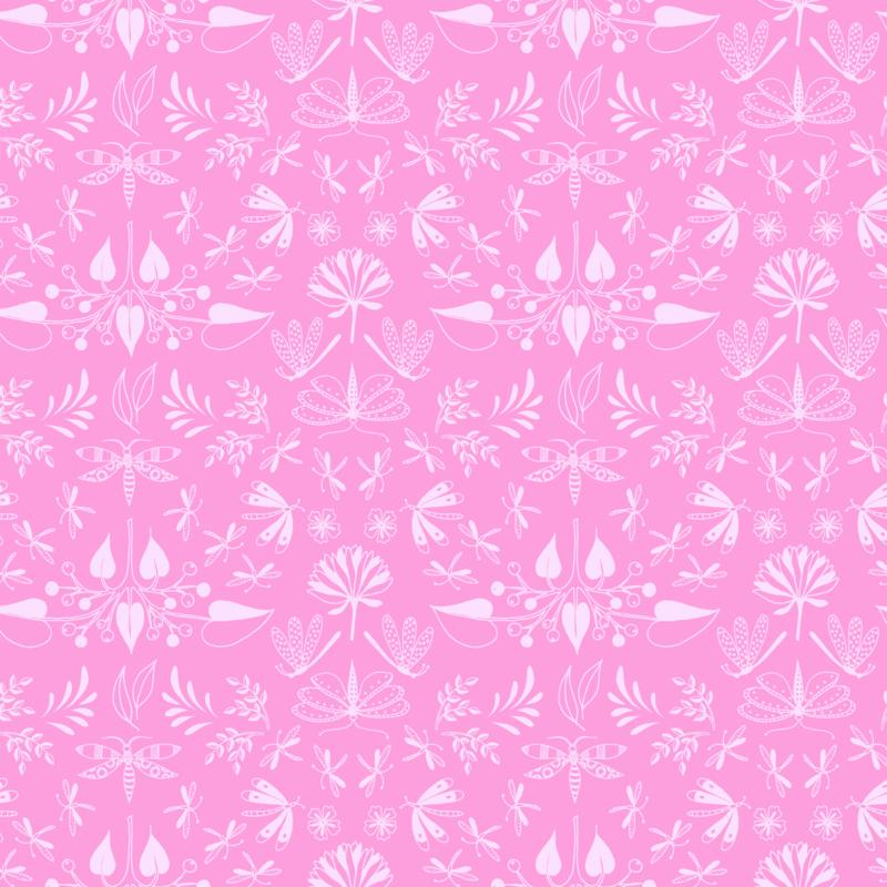 Aerial Wingspan Pink