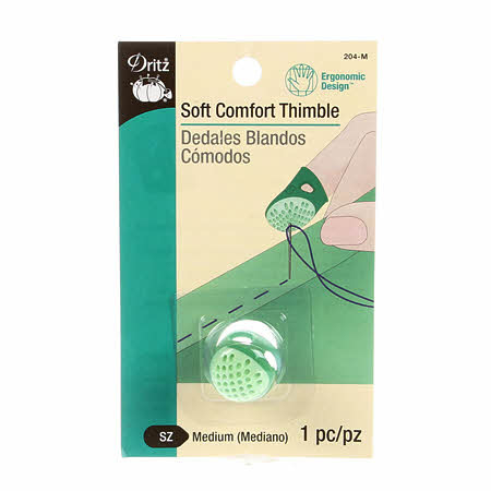 Dritz Soft Comfort Thimble Medium