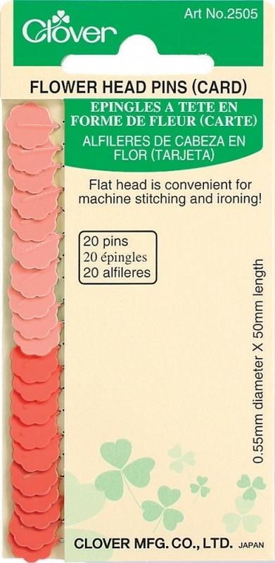 Flowerhead Pins (normal) 20 stuks