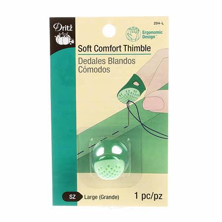 Dritz Soft Comfort Thimble Large