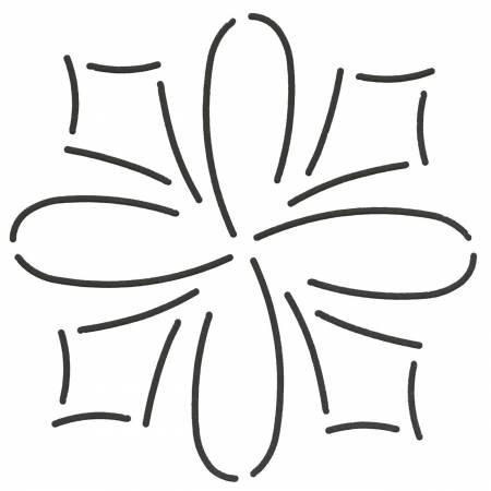 Quilt Stencil Loop & Dart
