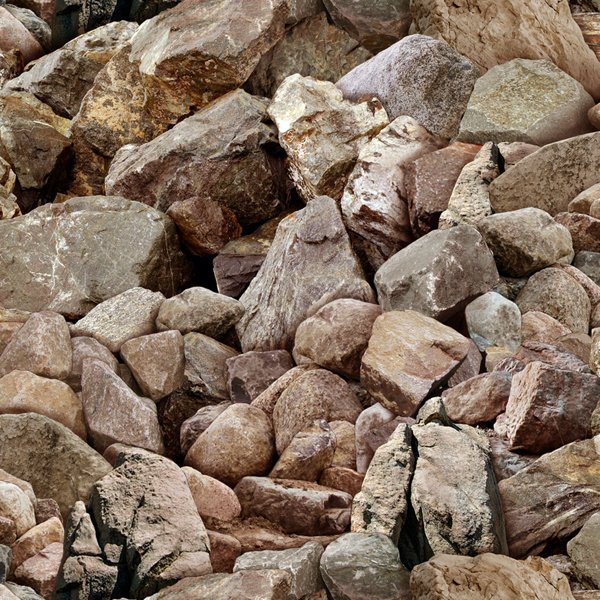 Landscape Medley - Rocks Brown