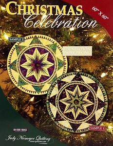 Christmas Celebration Tree Skirt - Paperpieced
