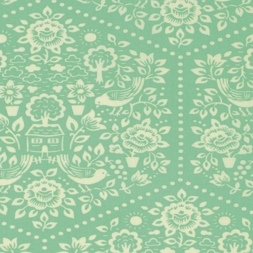 Clementine Summerhouse Turquoise by Heather Bailey