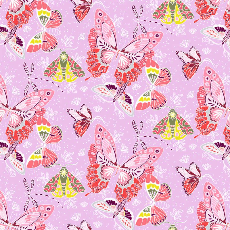 Aerial Flock Lilac