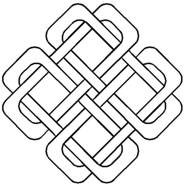 Quilt Stencil Celtic Design BS282QC