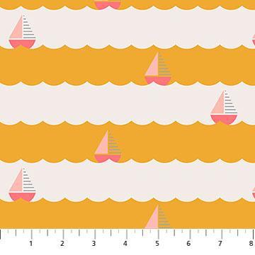 Sail away yellow